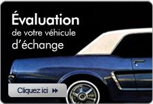 Évaluation de votre véhicule d'échange