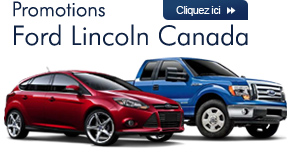 Promotions Ford Canada